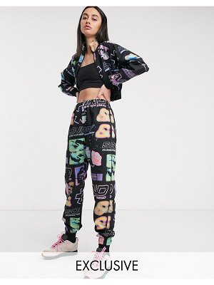 Crooked Tongues tracksuit bottoms two-piece-multi