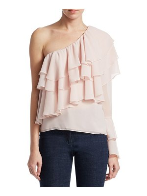 Crosley One-Shoulder Ruffle Top