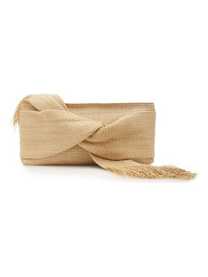 Cult Gaia banu canvas clutch