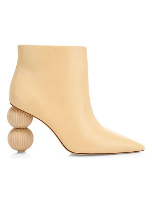 Cult Gaia cam leather booties