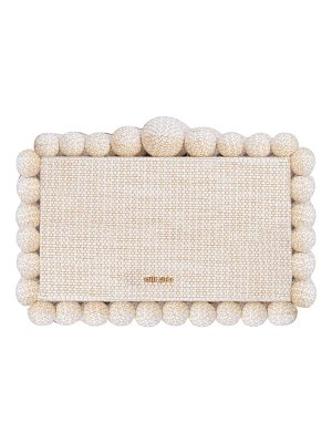 Cult Gaia eos bauble acrylic box clutch