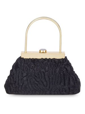 Cult Gaia Estelle mini faux fur top handle bag