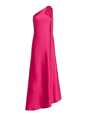 Cult Gaia florence one-shoulder satin gown