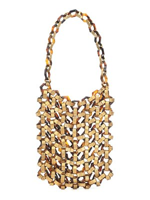 Cult Gaia mia acrylic and metal tote