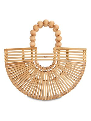 Cult Gaia Mini fan ark bamboo bag