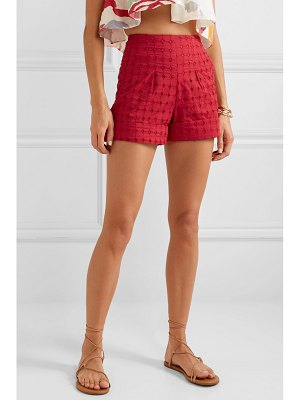 Cult Gaia shadi broderie anglaise cotton shorts
