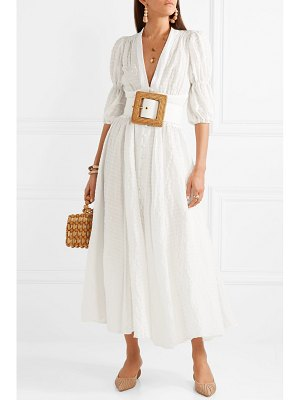 Cult Gaia willow seersucker maxi dress