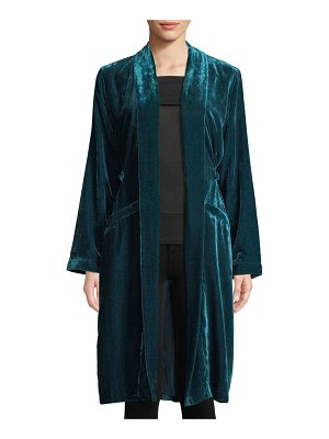 cupcakes and cashmere Albany Velvet Duster Jacket