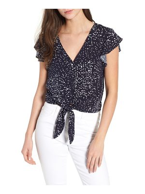 cupcakes and cashmere bellfield polka dot top