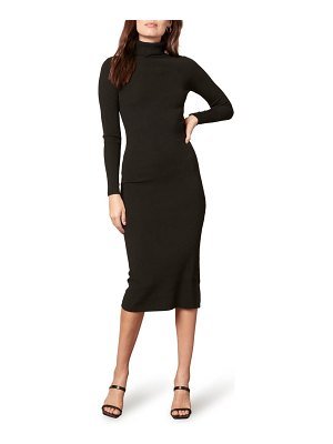 cupcakes and cashmere eclipse long sleeve midi dress