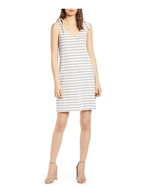 cupcakes and cashmere french terry stripe dress