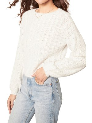 cupcakes and cashmere halcyon crewneck sweater
