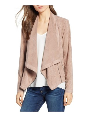 cupcakes and cashmere holt drape front jacket