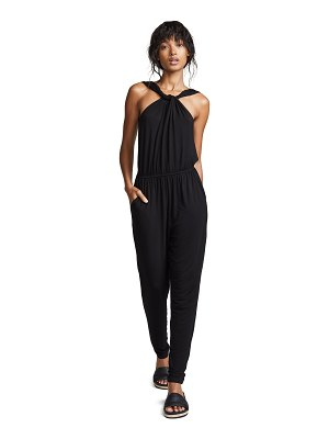 cupcakes and cashmere jalene jumpsuit w/ twist detail