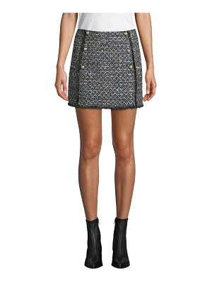 cupcakes and cashmere Lacie Tweed Mini Skirt