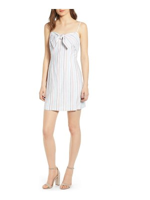 cupcakes and cashmere soleil stripe slipdress