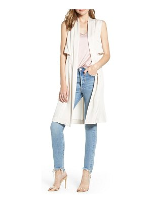 cupcakes and cashmere stacy long vest