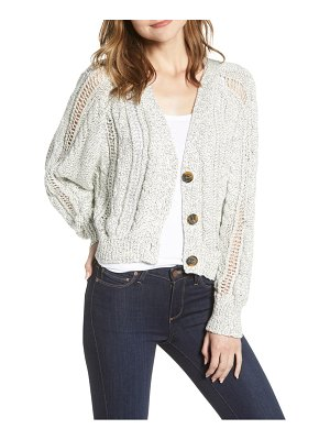 cupcakes and cashmere venice cable knit cardigan