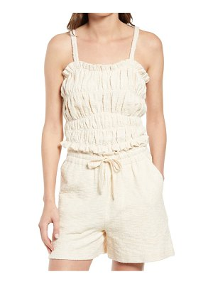 Current Air smocked camisole
