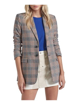Current/Elliott the calla glen plaid blazer
