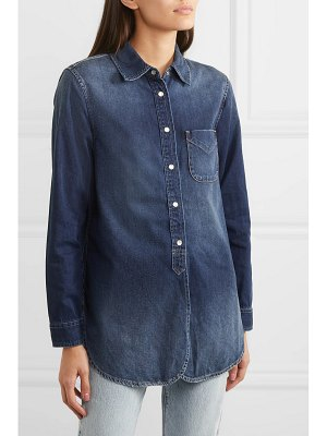 Current/Elliott the deck denim shirt