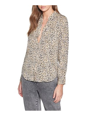 Current/Elliott the derby leopard shirt