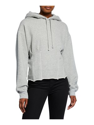Current/Elliott The Pintuck Pullover Hoodie