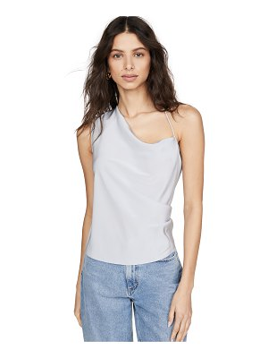 Cushnie asymmetrical draped tank
