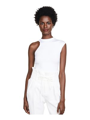 Cushnie et Ochs single cap sleeve top