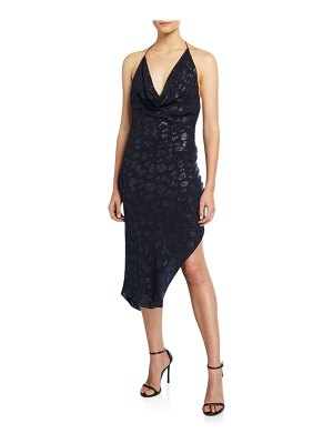 Cushnie Leopard Mini Halter Dress