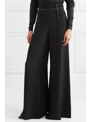 Cushnie silk-crepe wide-leg pants