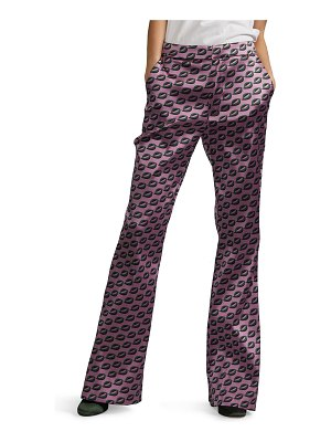 Cynthia Rowley Breslin Geometric Flared Pants