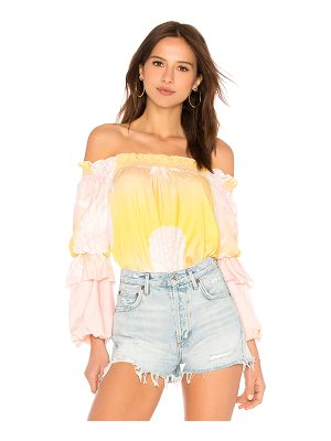 Cynthia Rowley Jetset Pineapple Top