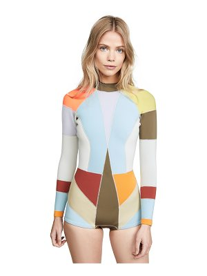 Cynthia Rowley prism wetsuit