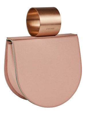 D'Estree d estree  mini lucio cuff handle leather bag