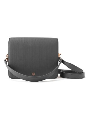 DAGNE DOVER epic coated canvas crossbody bag