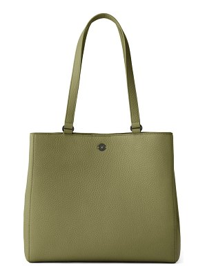 DAGNE DOVER large allyn leather tote