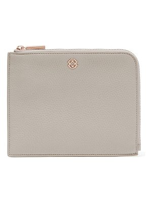 DAGNE DOVER small elle leather clutch