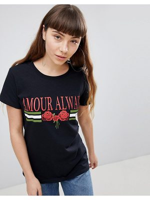 Daisy Street T-Shirt With Graphic Print