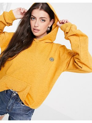 Damson Madder recycled relaxed coordinating hoodie-orange