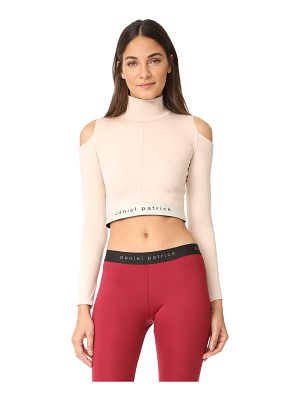 Daniel Patrick cold shoulder sport top