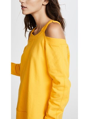 Daniel Patrick cold shoulder sweatshirt