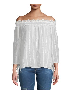Daniel Rainn Off-The-Shoulder Top
