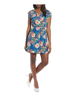 Daniel Rainn pleat shoulder minidress