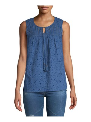 Daniel Rainn Sleeveless Cotton Top