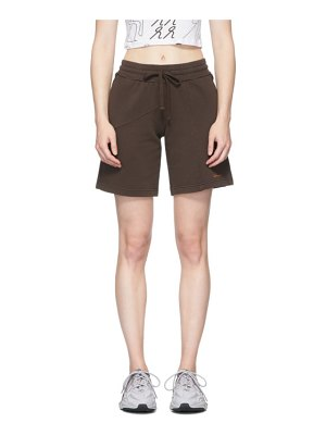 Danielle Cathari deconstructed terry shorts