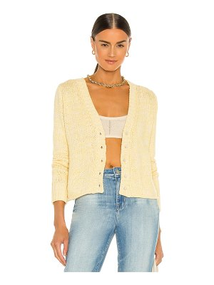 DANNIJO cropped cardigan with pearl buttons