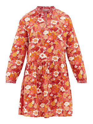 D'ASCOLI lulu floral-print cotton dress
