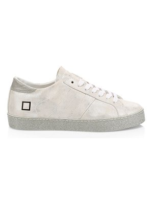 D.A.T.E. hill glitter leather low-top sneakers