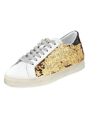 D.A.T.E. Hill Low Paillettes Sneakers